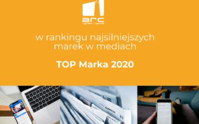 ARC Rynek i Opinia w rankingu TOP Marka 2020
